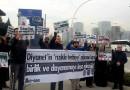 Ankara'da Diyanet Önünde Özhan Uçan'la Dayanışma Eylemi