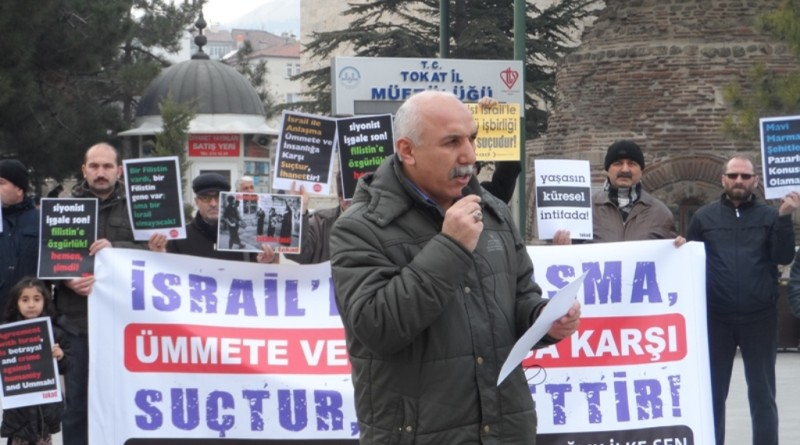2015-1226-israil-protestosu-tokat (1)
