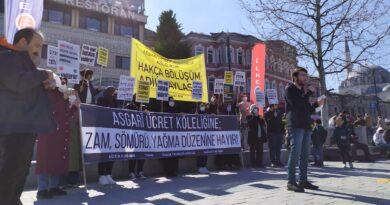 Asgarî Ücret Köleliğine; Zam, Sömürü ve Yağma Düzenine Hayır!